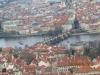 Vy över Prag Karlsbron